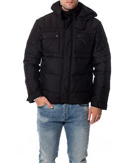 Cam Puffer Jacket Black