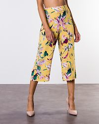 Simply Easy High Waist Culotte Pant Yarrow/Trille