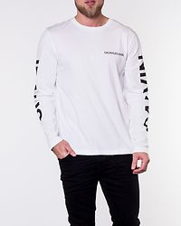 Long Sleeve Institutional Back Bright White