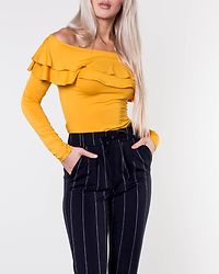 Frieda Frill Top Yellow