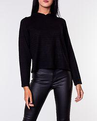 Kammi Hood Pullover Black