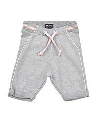 Pants Capri Sweat Light Grey Melange