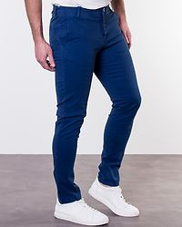 Skinny Luca Navy Peony Pants