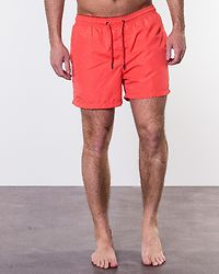Cali Swim Shorts Hot Coral