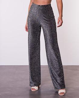Dila Sparkling Trousers Black
