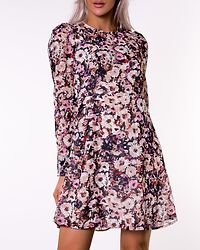 Nilla Short Dress Spiced Coral