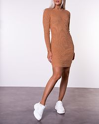Tamsin Knit Dress Toasted Camel