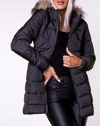 North Nylon Coat Black/Melange