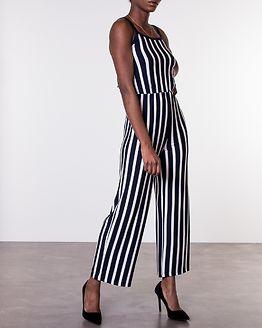 Alina Strap Jumpsuit Navy Blazer