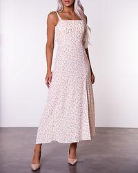 Flowerprint Strap Dress White