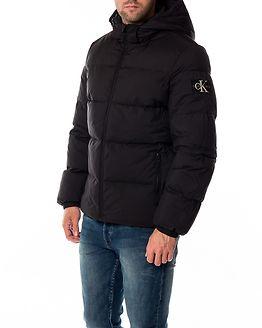 Hooded Down Jacket Black