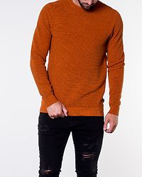Eliam Knit Crew Neck Umber