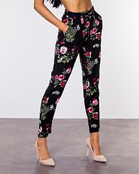 Simply Easy Loose Pant Black/Laila