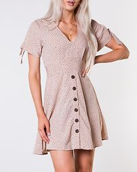 Florine Dress Beige/Dotted
