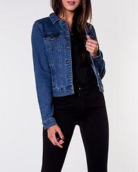 Hot Soya Denim Jacket Medium Blue Denim