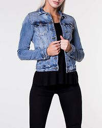 Show Denim Jacket Medium Blue Denim