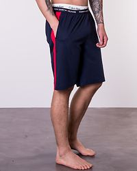 Jersey Panel Short Navy Blazer