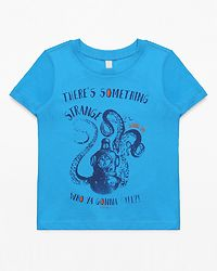 Tee-Shirt There's Something Dark Teal