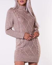 Arabella Sweater Dress Light Beige