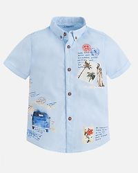 S/S Shirt Light Blue