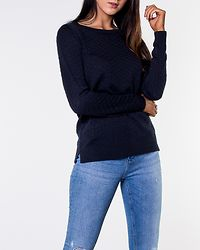 Sarafina Knit Top Total Eclipse