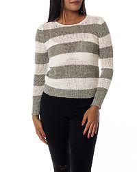 Gabbi Stripe Pullover Cloud Dancer/Ether
