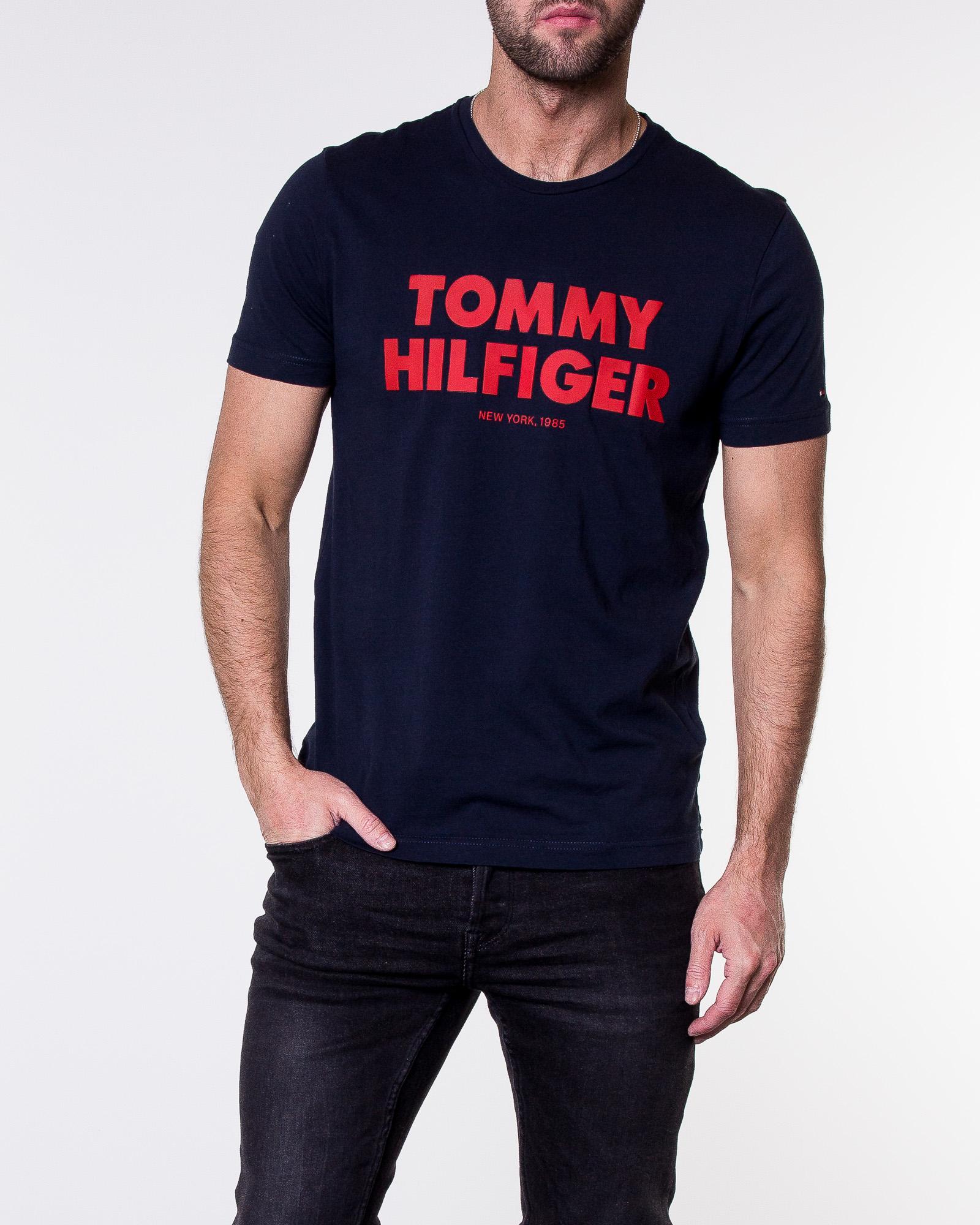 4bea7af50 Tommy Hilfiger, Tommy Hilfiger Tee Sky Captain | Men's T-shirts |  HOUSEOFBRANDON.COM