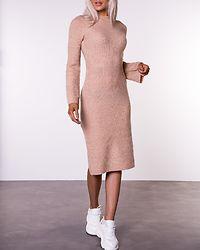 Winnie Sweater Dress Beige Melange