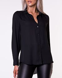 Lucy Button Shirt Black