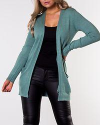 Ril Open Knit Cardigan Oil Blue/Melange
