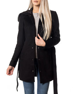 Elena Rich 3/4 Wool Jacket Black