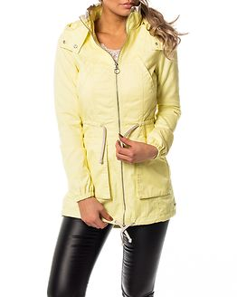 New Olga Spring Parka Coat Elfin Yellow