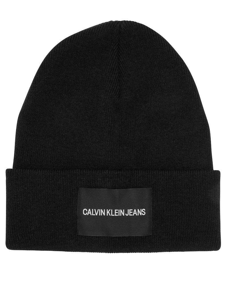 8e2ce36a5f4 Calvin Klein Jeans Beanie Black