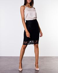 Fabia Lace Skirt Black