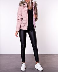 Luna Quilted Jacket Shadow Gray