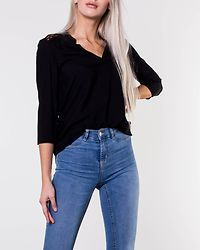 Boca Lace Blouse Black