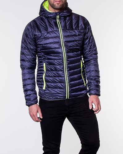 on sale d88ff fd650 Chromatic Core Down Jacket Navy Marl