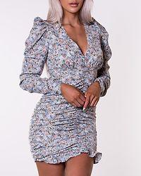 Kendall Rouching Dress Pumice Stone/Blue