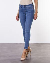 Seven NW Slim Zip Ankle Medium Blue Denim