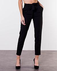 Nicole Paperbag Ankle Pants Black