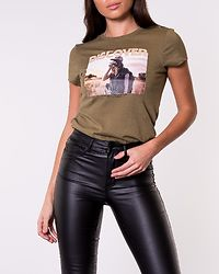 Valentina Life Fit Photo Top Martini Olive/Discover