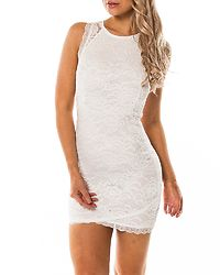 Salma Lace Dress White