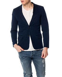 Hector Blazer Dark Blue Denim