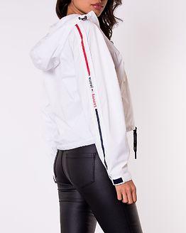 Branded Sleeves Windbreaker White