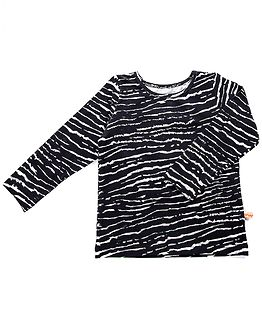Longsleeve African Stripes Navy