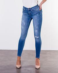 Carmen Regular Skinny Jeans Medium Blue Denim
