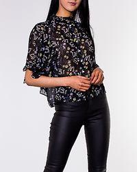 Lotus Batwing Shirt Black