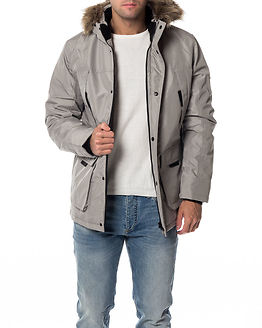 Hollow Parka Ghost Gray