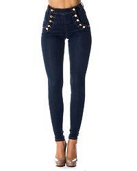 Adina Highwaist Jeans Midnight Blue