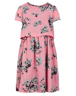 Melina Dress Salmon Rose